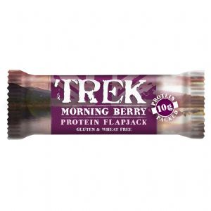 Morning Berry Trek Protein Flapjack - Gluten & Wheat Free 50g